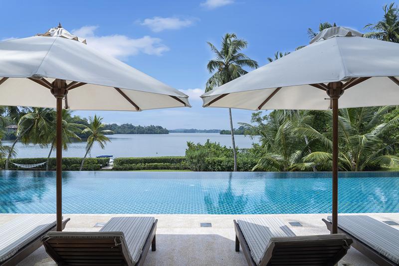 Lakefront Villas in Sri Lanka