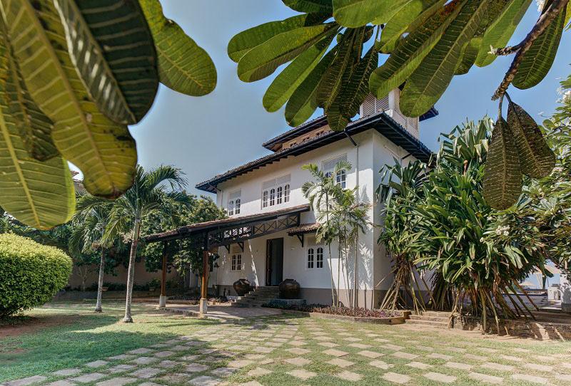 On the Rocks a Large Villa Located in Talpe, Sri Lanka
