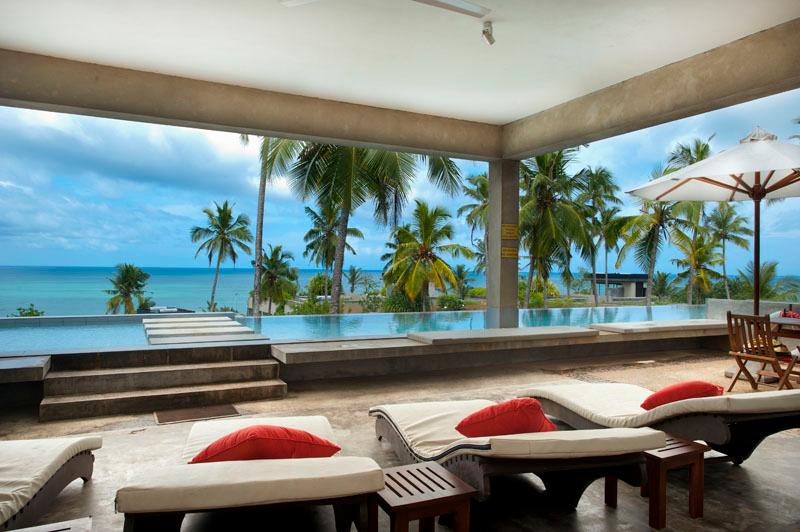 Villa Kambura Sea A Beachfront Villa in Mirissa, Sri Lanka
