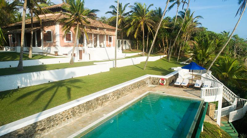 Pointe Sud a Stunning Beachfront Villa in Mirissa, Sri Lanka