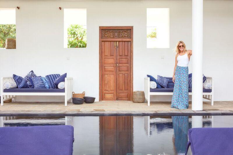 August Beach House a Beachfront Villa Located in Weligama, Sri Lanka