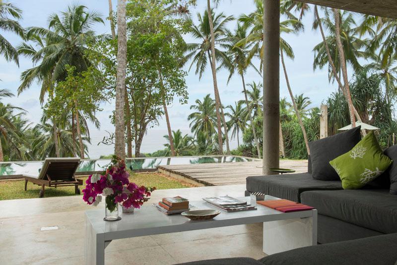 Walatta House a Uniquely Designed Beachfront Villa in Tangalle