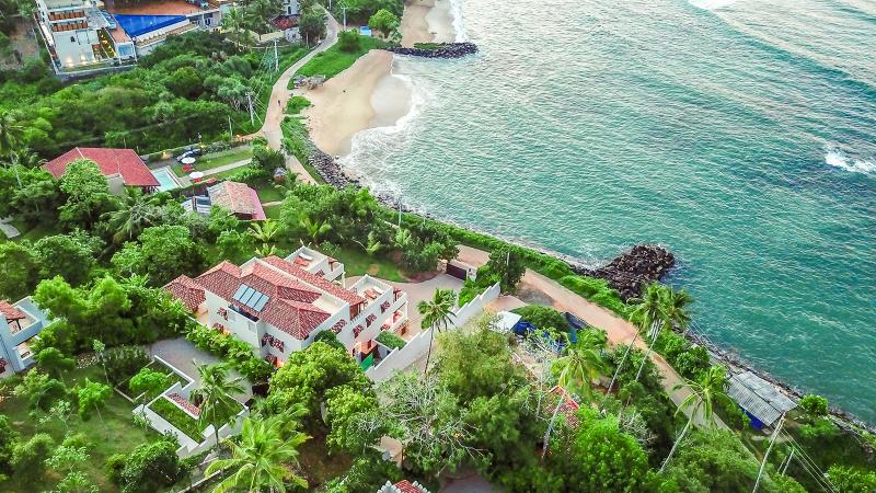 Cinnamon House a Stunning Beachfront Villa in Weligama, Sri Lanka