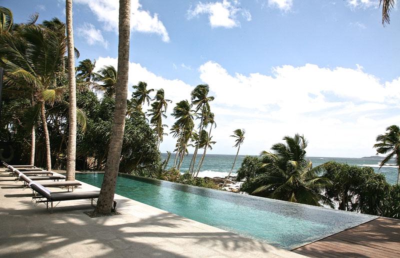 Tangalle Beach House a Beachfront Villa Located in Tangalle, Sri Lanka