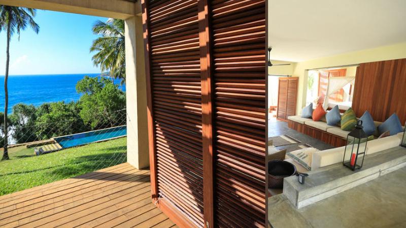 Stow House a Luxury Beachfront Villa with Pool in Tangalle, Sri Lanka