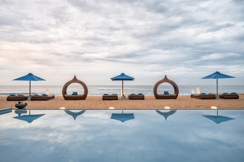 Mirissa Beach House a Luxurious Beachfront Villa in Mirissa, Sri Lanka