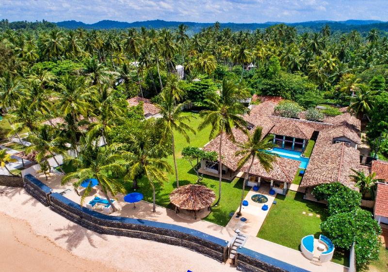 Auraliya a Luxurious Beachfront Villa in Thalpe, Sri Lanka