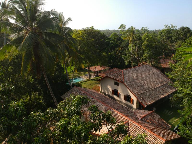 Villa Mugatiya an Old Colonial Villa in Ahangama, Sri Lanka