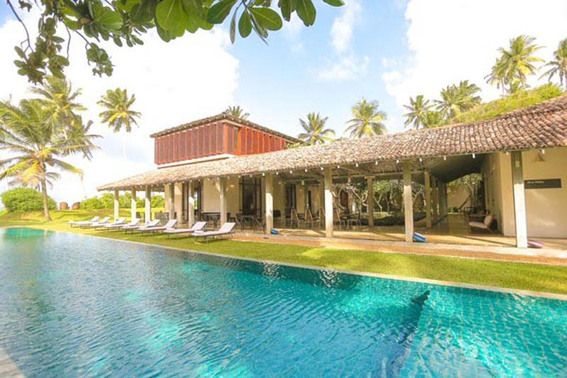 Villa Frangipani in Thalpe, Sri Lanka