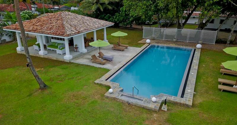 Tanamera Estate a Luxurious Beachfront Villa in Thalpe, Sri Lanka