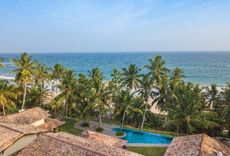 Villa Abiman a Stunning Beachfront Villa in Dikwella, Sri Lanka