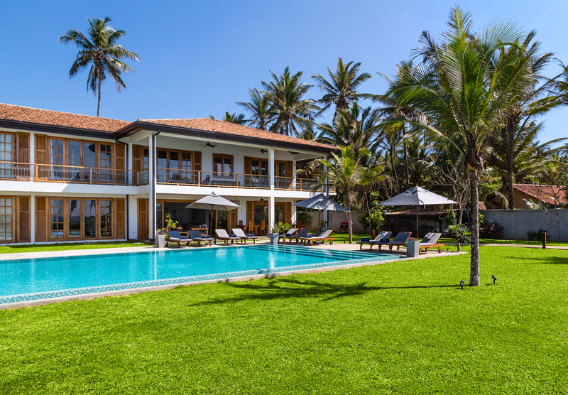 The Boat House in Hiriketiya. Sri Lanka