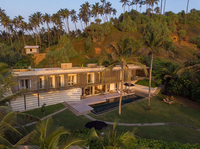 Talalla House a Modern Beachfront Villa in Talalla, Sri Lanka