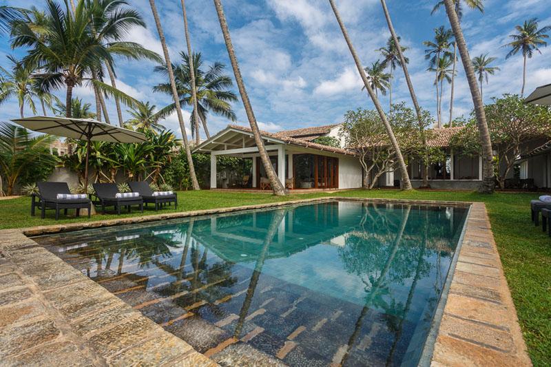 Villa Victoria a Stunning Beachfront Villa in Galle, Sri Lanka