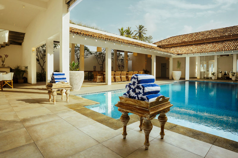 Luxury Beachfront Villa Ishq in Thalpe, Sri Lanka