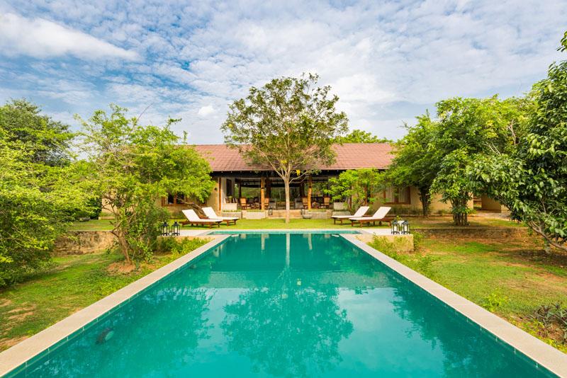 Villa Yala in Yala, Sri Lanka