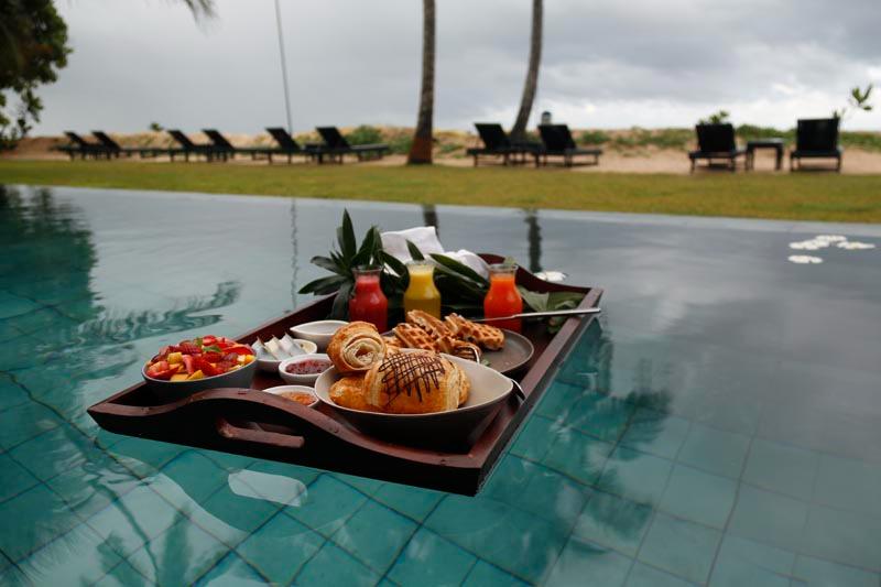 Ubuntu Beach Villas a Large Beachfront Villa in Mirissa, Sri Lanka